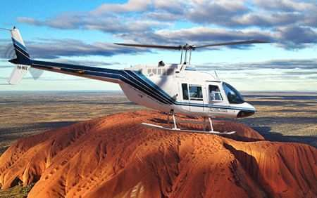 Ayers Rock Sunrise Flight