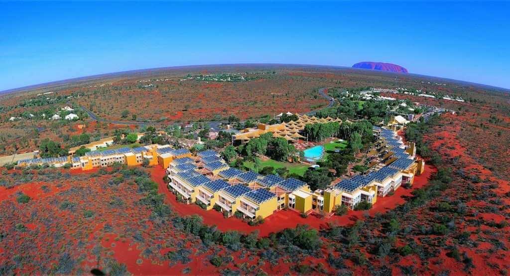 Ayers Rock resort + Uluru