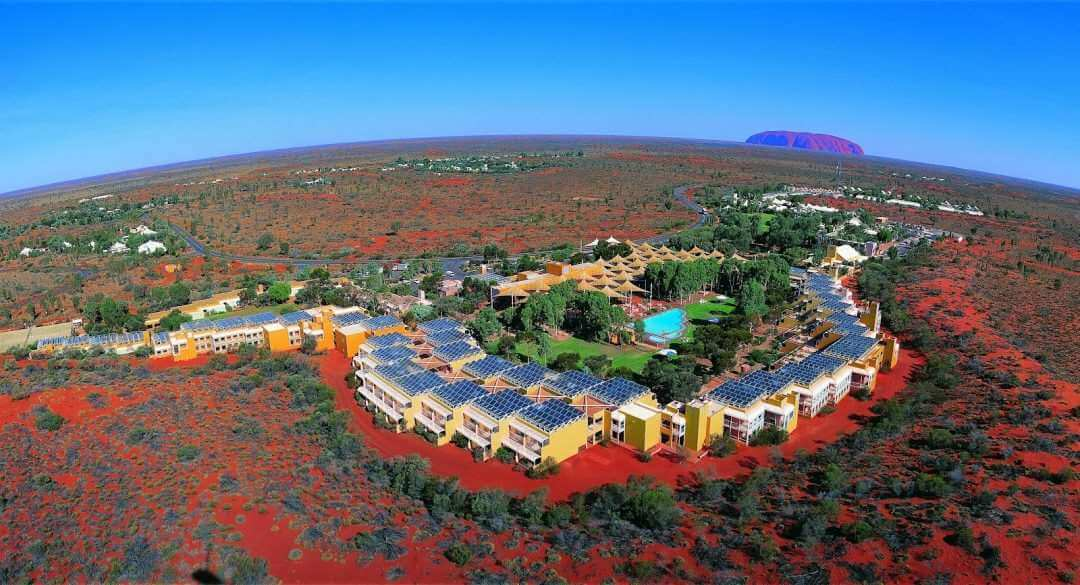 Ayers Rock resort + Uluru