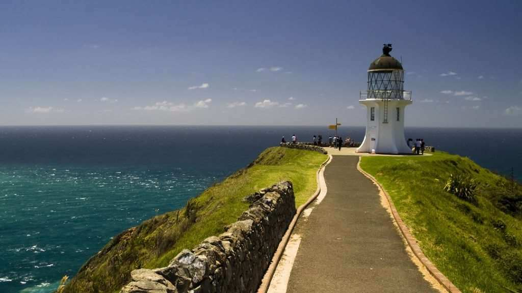 Cliff lighthouse, Cape Reinga