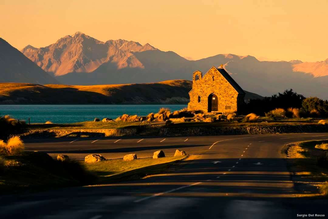 Christchurch Lake Tekapo