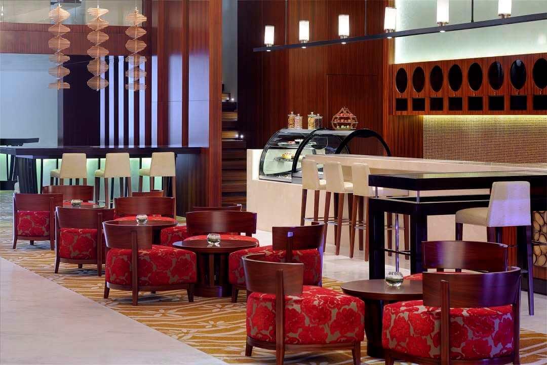 Marriott al Jaddaf Dubai lobby lounge