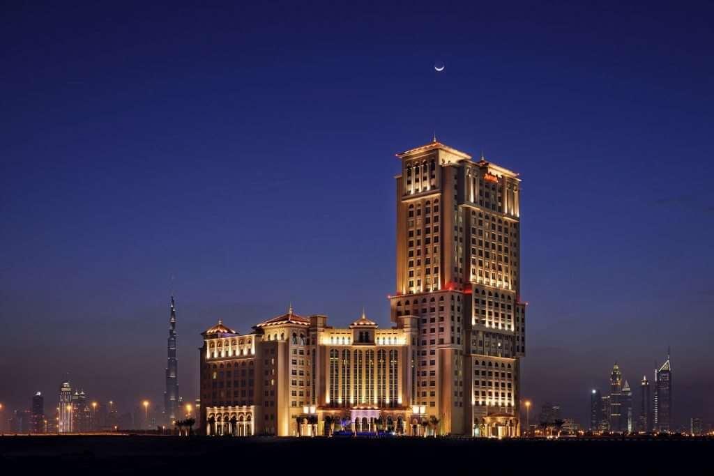 DXB Marriott al Jaddaf exterior