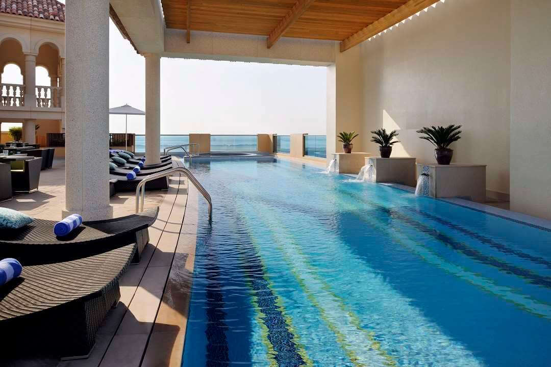 Marriott al Jaddaf Dubai pool