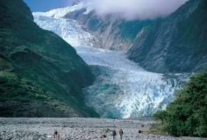 FRJ glacier scenic view