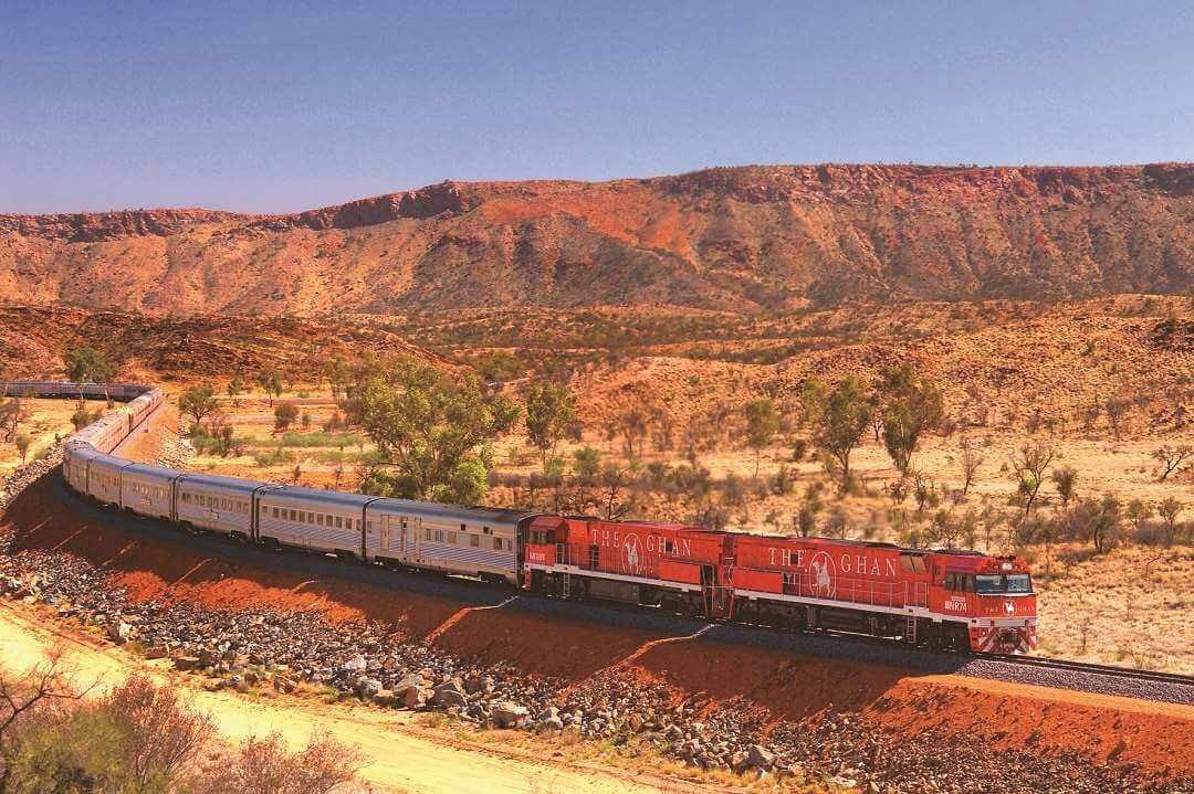 The Ghan landscape