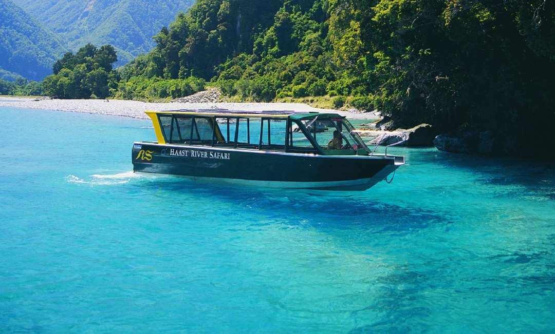Haast River Safari Boat