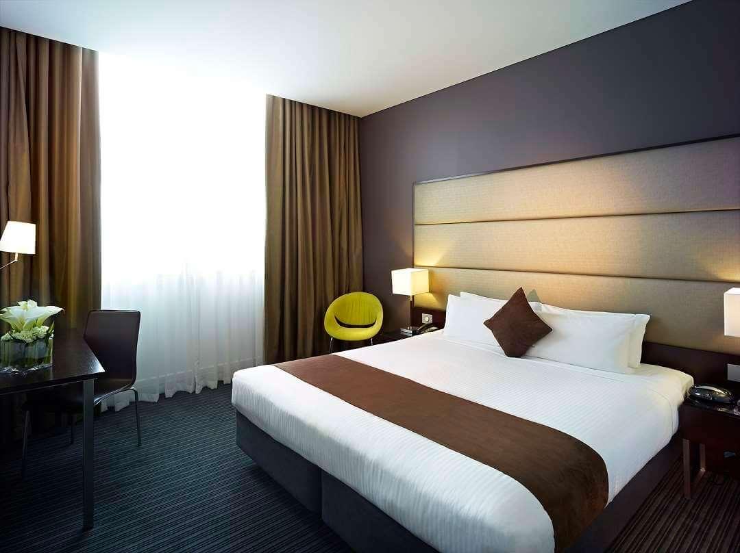 Rendezvous Hotel Melbourne BEDROOM