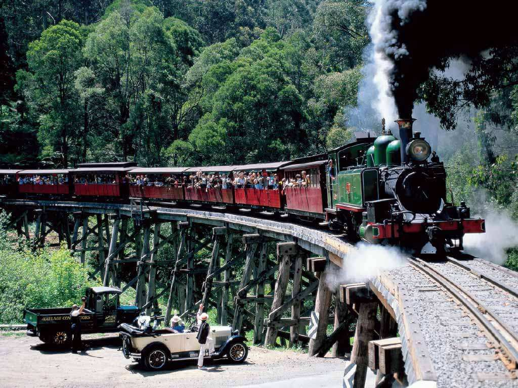 Melbourne Puffing Billy 1