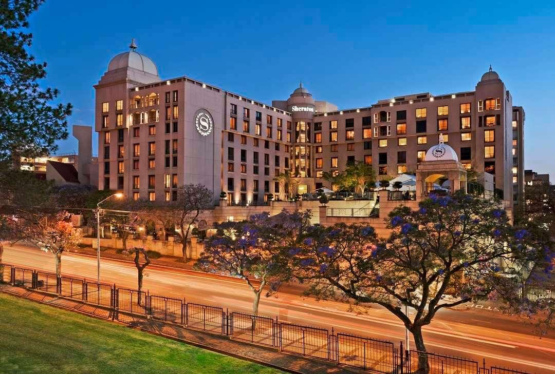 Sheraton Hotel Pretoria exterior