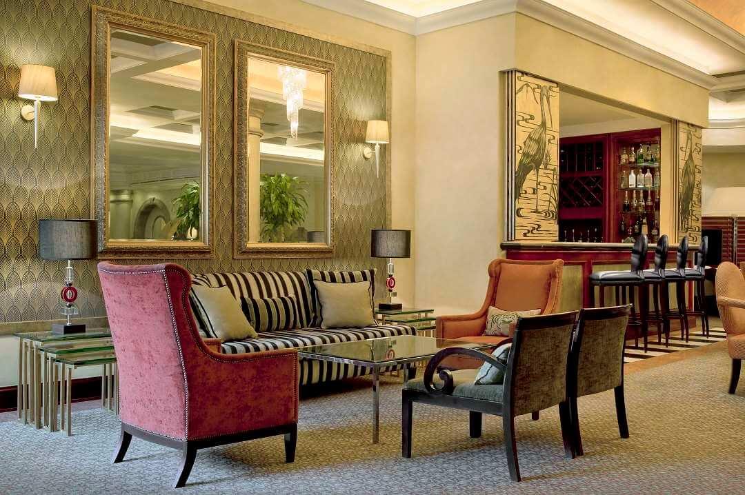 Sheraton Hotel Pretoria Tiffens lounge