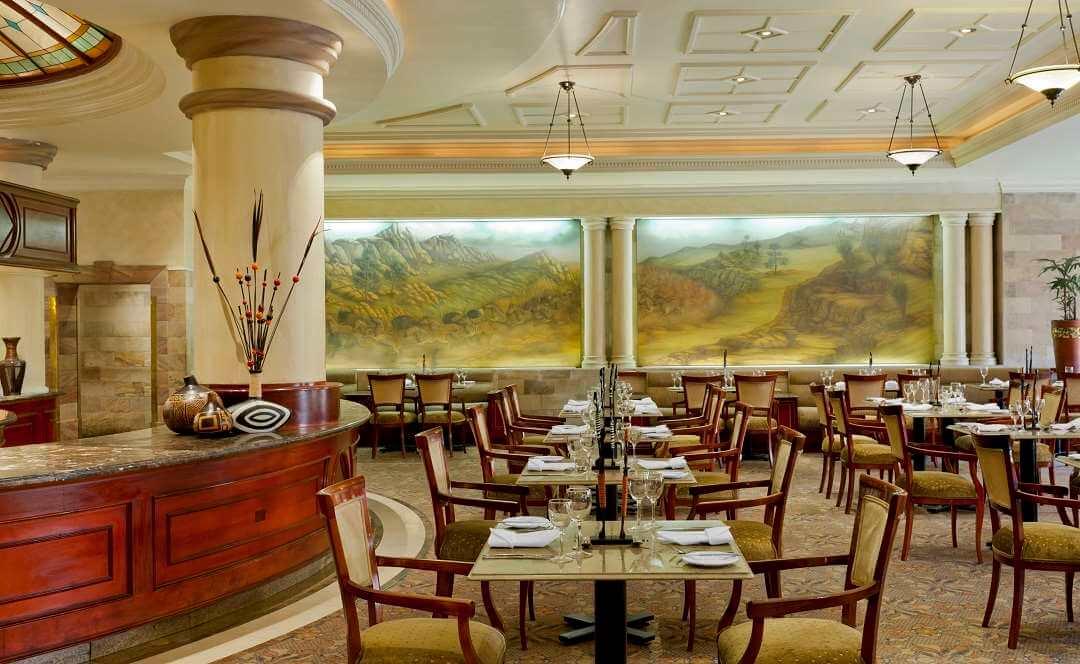 Sheraton Hotel Pretoria Magnolia restaurant