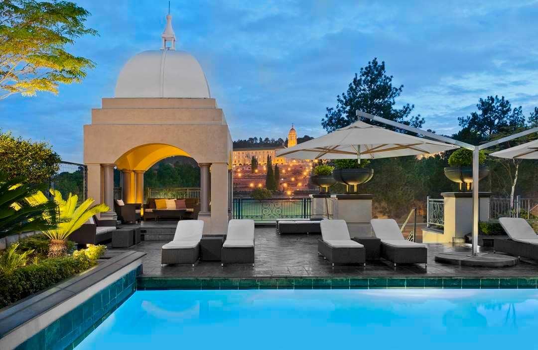 Sheraton Hotel Pretoria pool