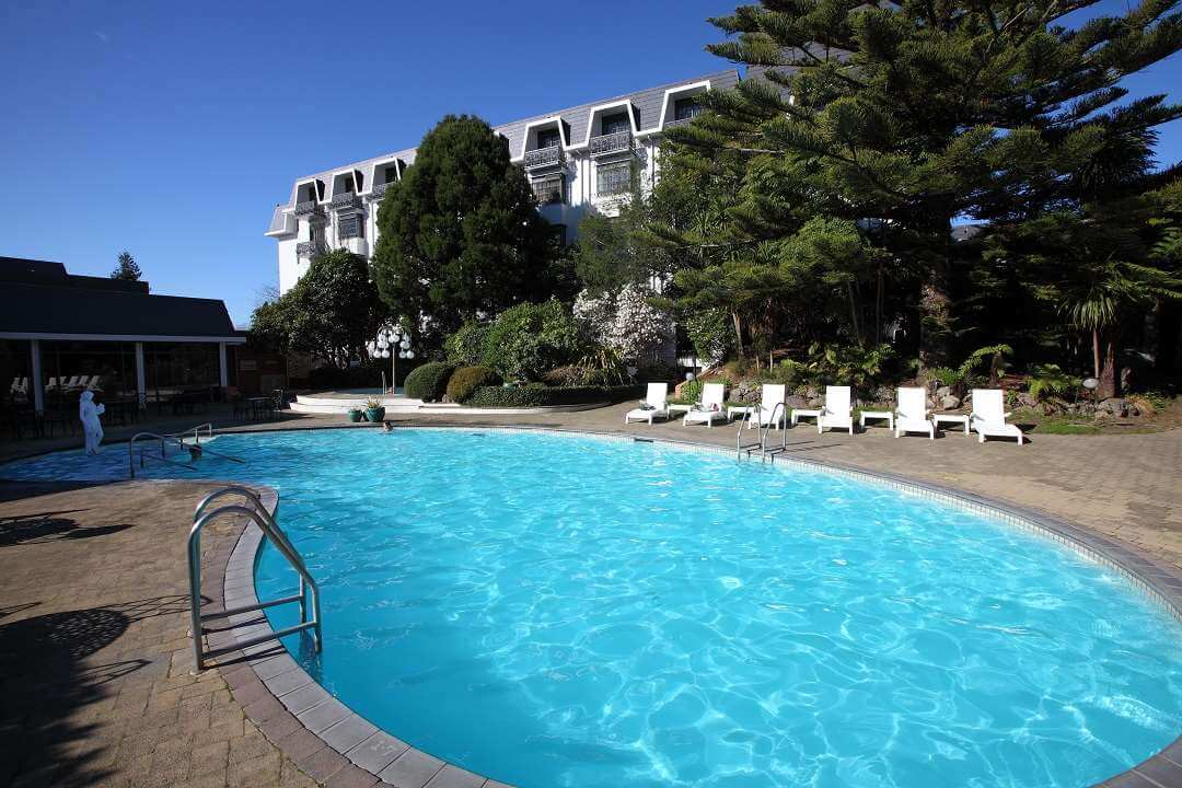 Distinction Hotel Rotorua pool