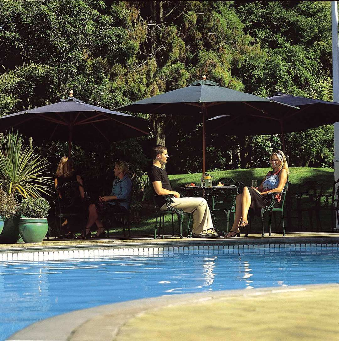 Distinction Hotel Rotorua pool area