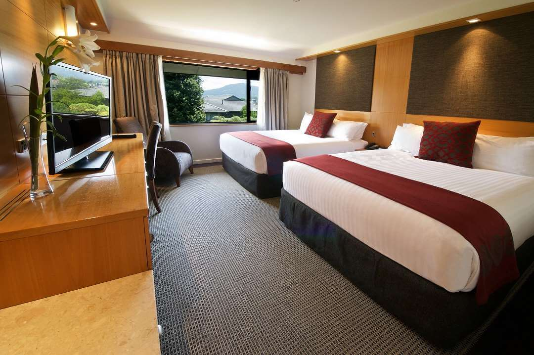 Millennium Hotel Rotorua twin room