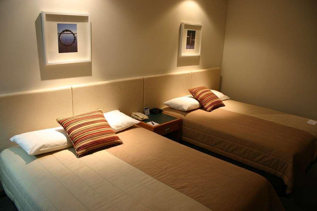Rotorua Sudima Hotel bedroom