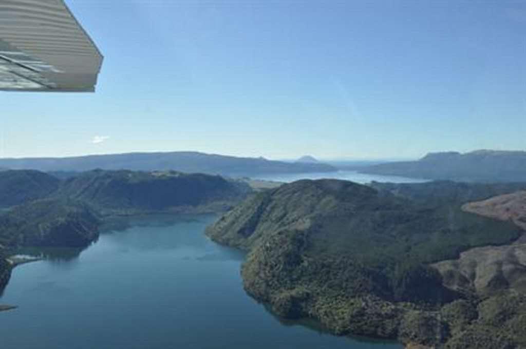 Rotorua Flight - Volcano