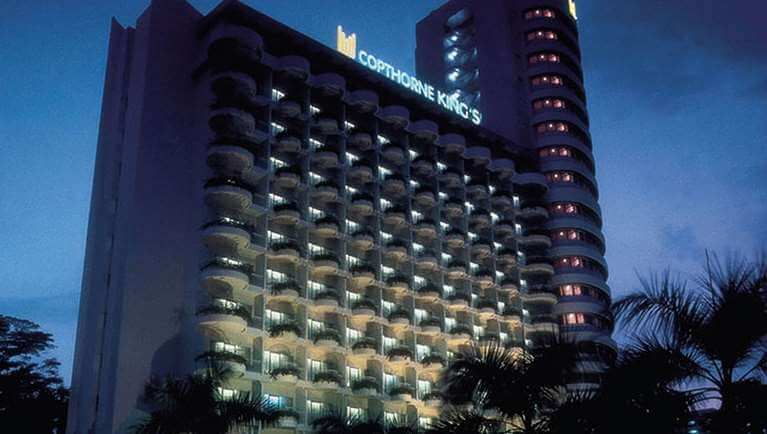 Copthorne Kings Hotel Singapore exterior