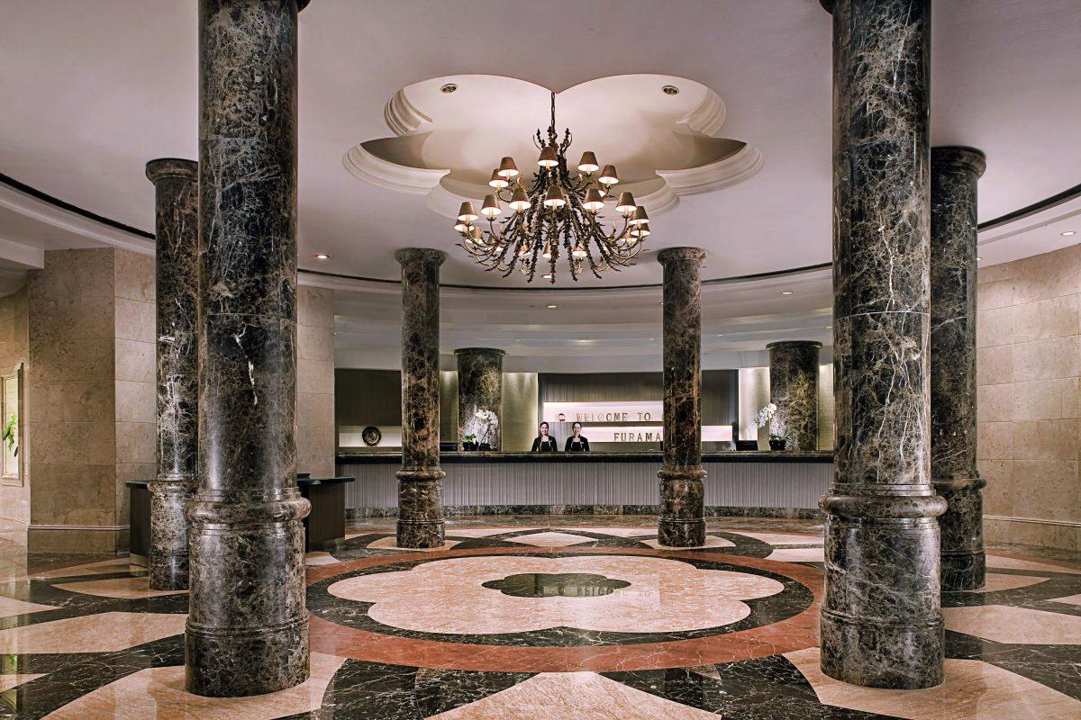 Furama Riverfront Singapore lobby