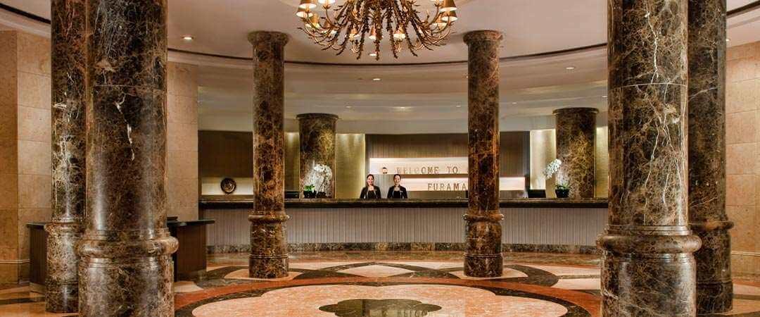 SIN Furama lobby