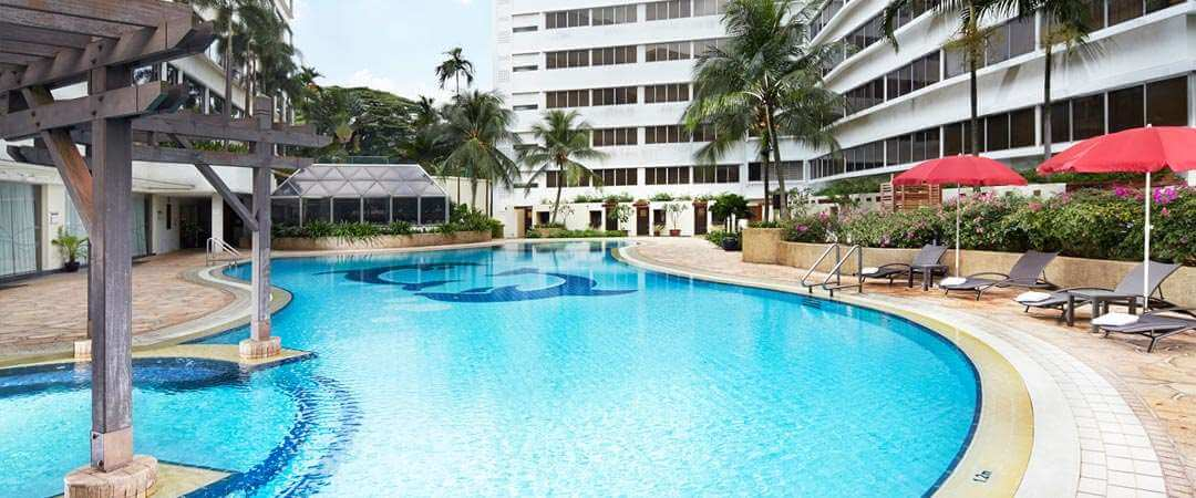 Furama Riverfront Singapore pool