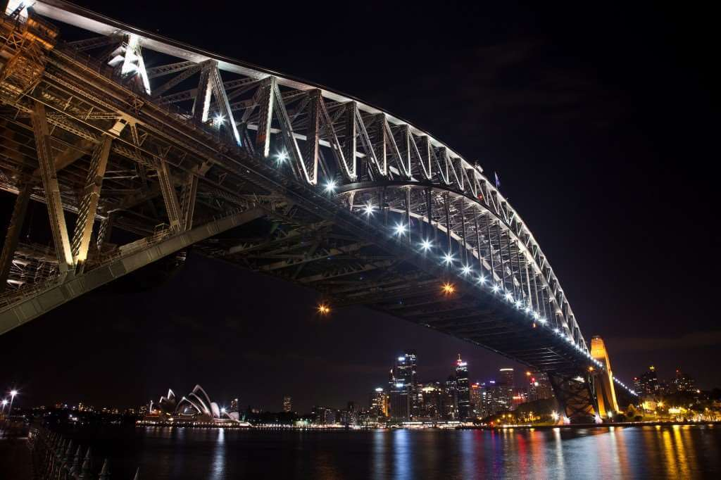 SYD Harbour Bridge Night