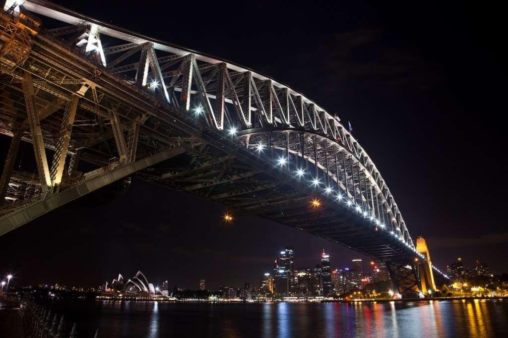 SYD Harbour Bridge Night