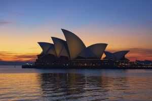 Sydney Opera House, evening