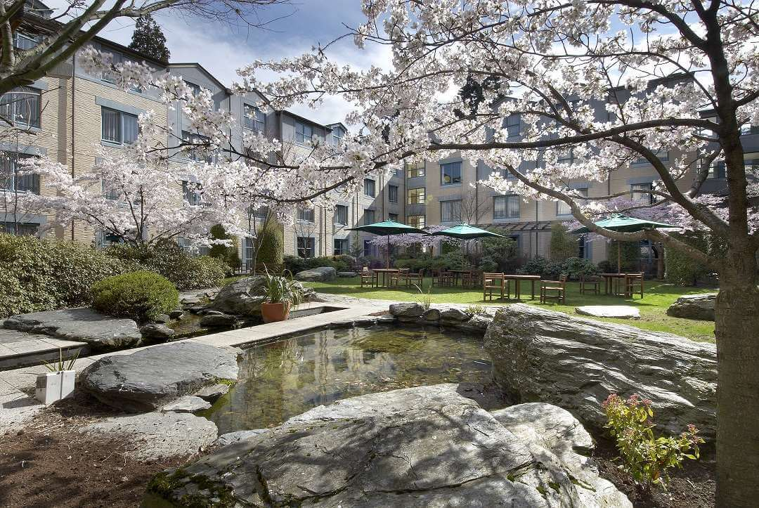 Millennium Hotel Queenstown garden