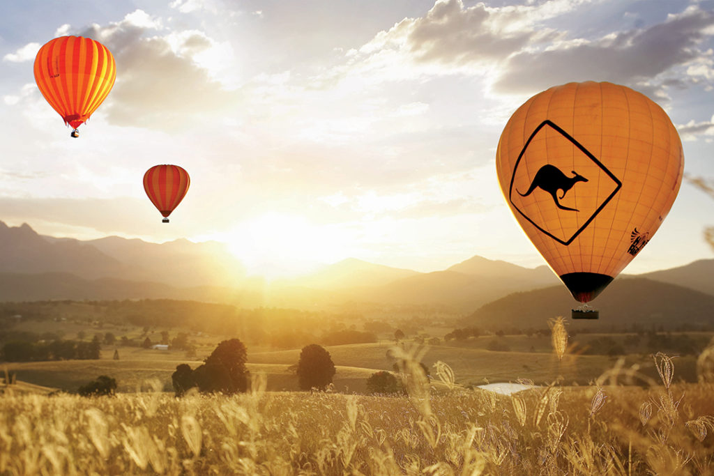 ballooning-with-hot-air-goldcoast-panorama-cairns