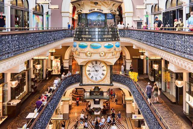 queen victoria shopping sydney