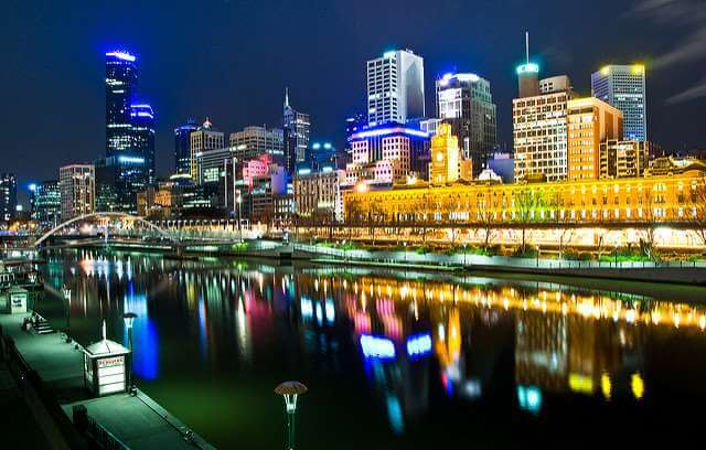 elbourne city skyline