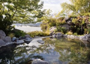 4. Polynesian Spa overlooks Lake Rotorua