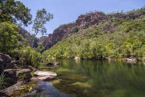 Kakadu river and landscape