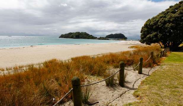 mt maunganui beach new zealand