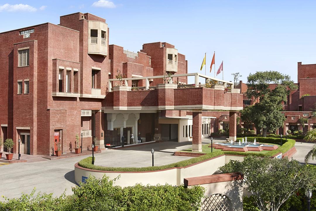 ITC Rajputana Hotel Entrance