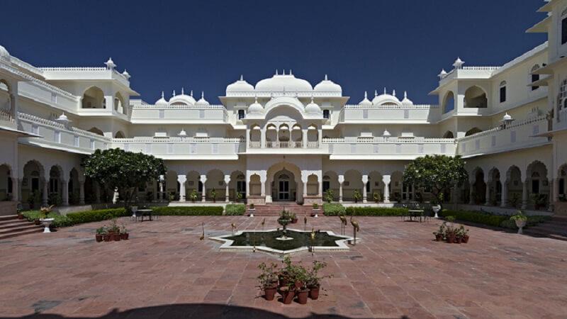 Nahargarh Fort Hotel Exterior
