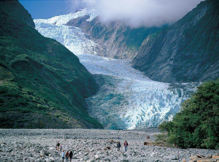 franz josef glacier mist walkers