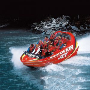 jet boating shotover river new zealand