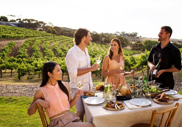 winery food and drink australia