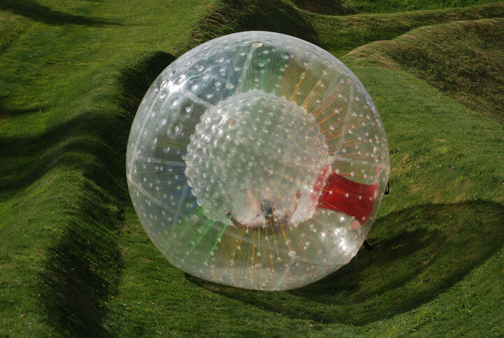zorbing thrill seeking activity new zealand