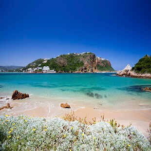 Knysna beach, South Africa