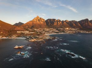 Clifton 4th Beach Cape Town South Africa Sunset
