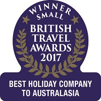 Best Holiday Company to Australasia 2017