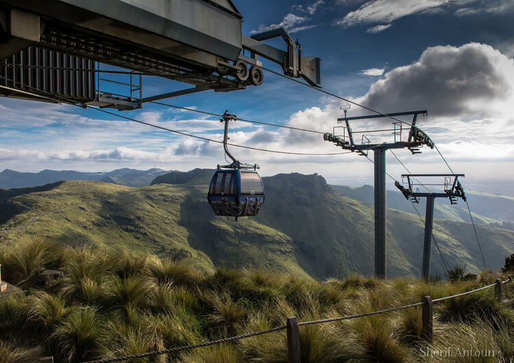 Gondola cable car christchurch, new zealand