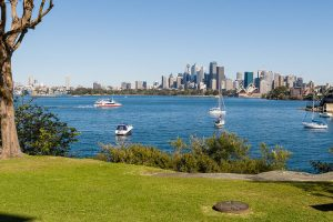 Sydney harbour view from Cremorne Point