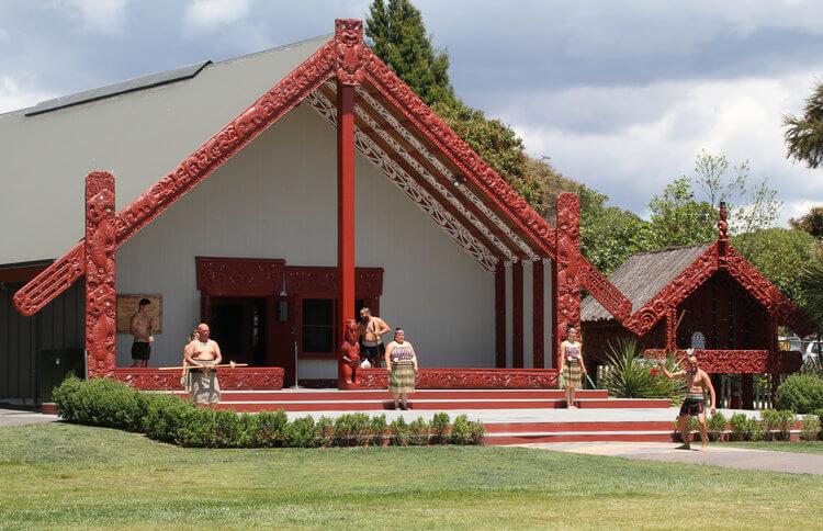 Te Puia Meeting House Maori Village