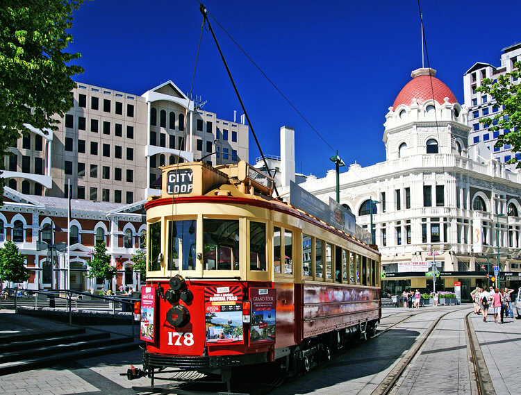 Christchurch historic tram tour
