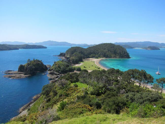 Robertson Island Bay of Islands New Zealand